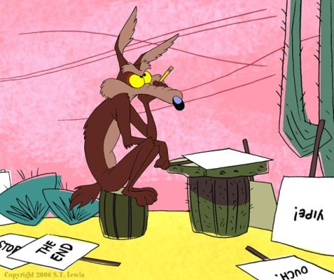 Zach Diamond Wile E Coyote